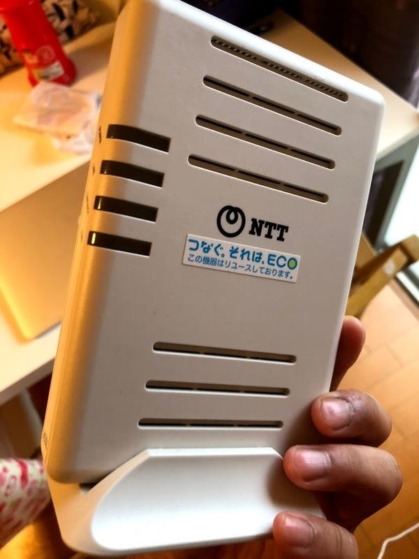 NTT東日本提供のVDSL機器