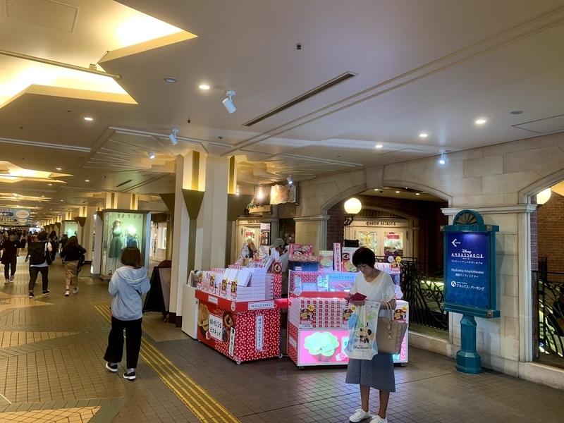 舞浜イクスピアリにあるセブン銀行ATMの場所
