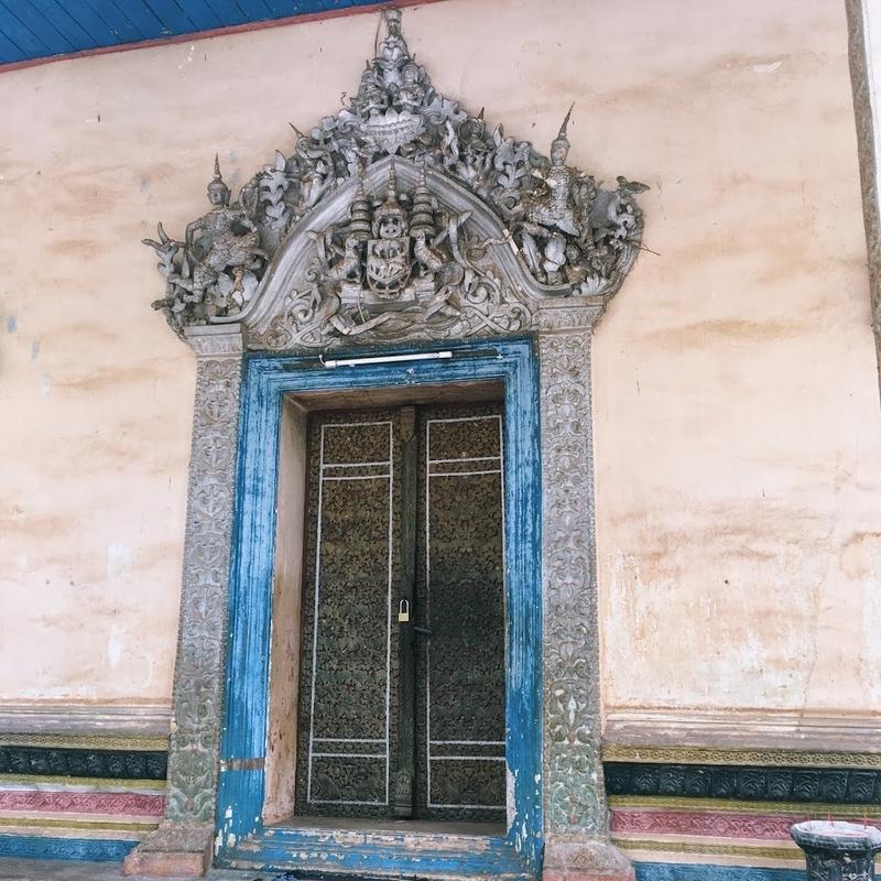 カンボジア・シェムリアップ市内にある寺院ワットボー