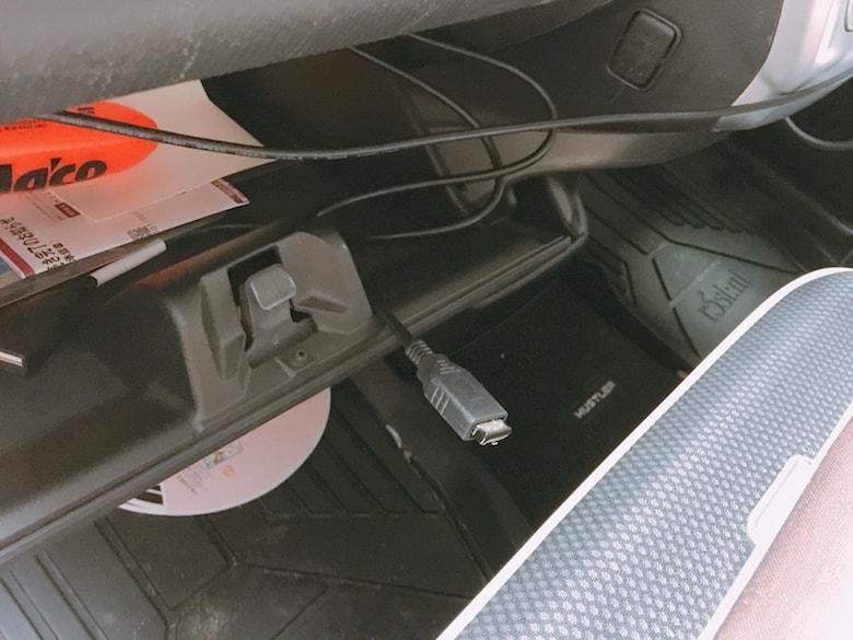 ドライブレコーダー取り付けイメージ07