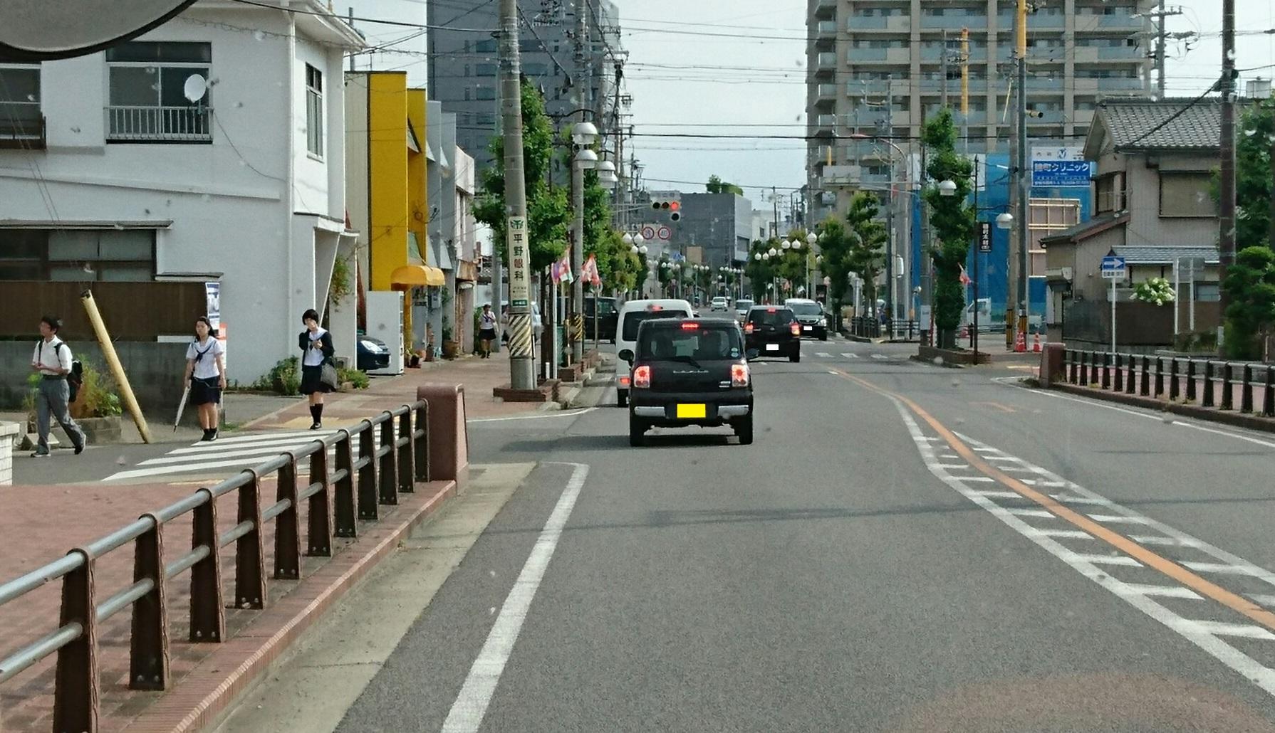 2017.6.1 (2) 名鉄バス - 末広町交差点てまえ 1790-1030
