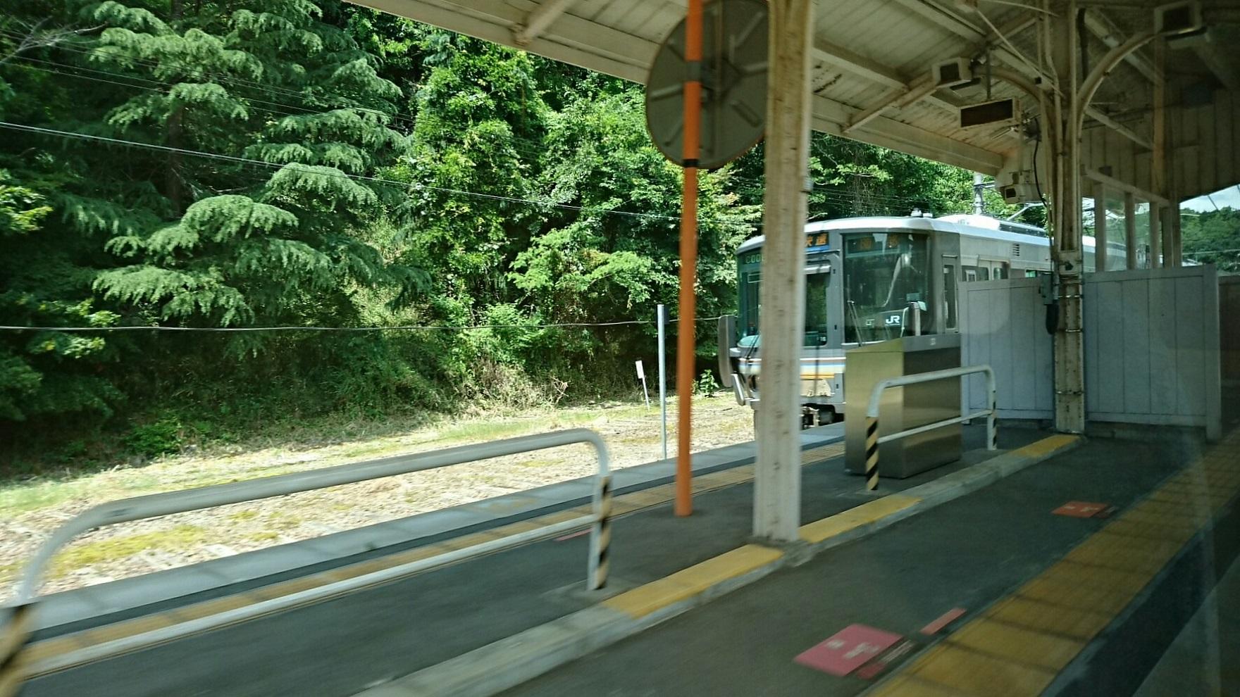 2017.6.3 豊岡 (24) はしだて3号 - 日吉(園部いき快速) 1760-990