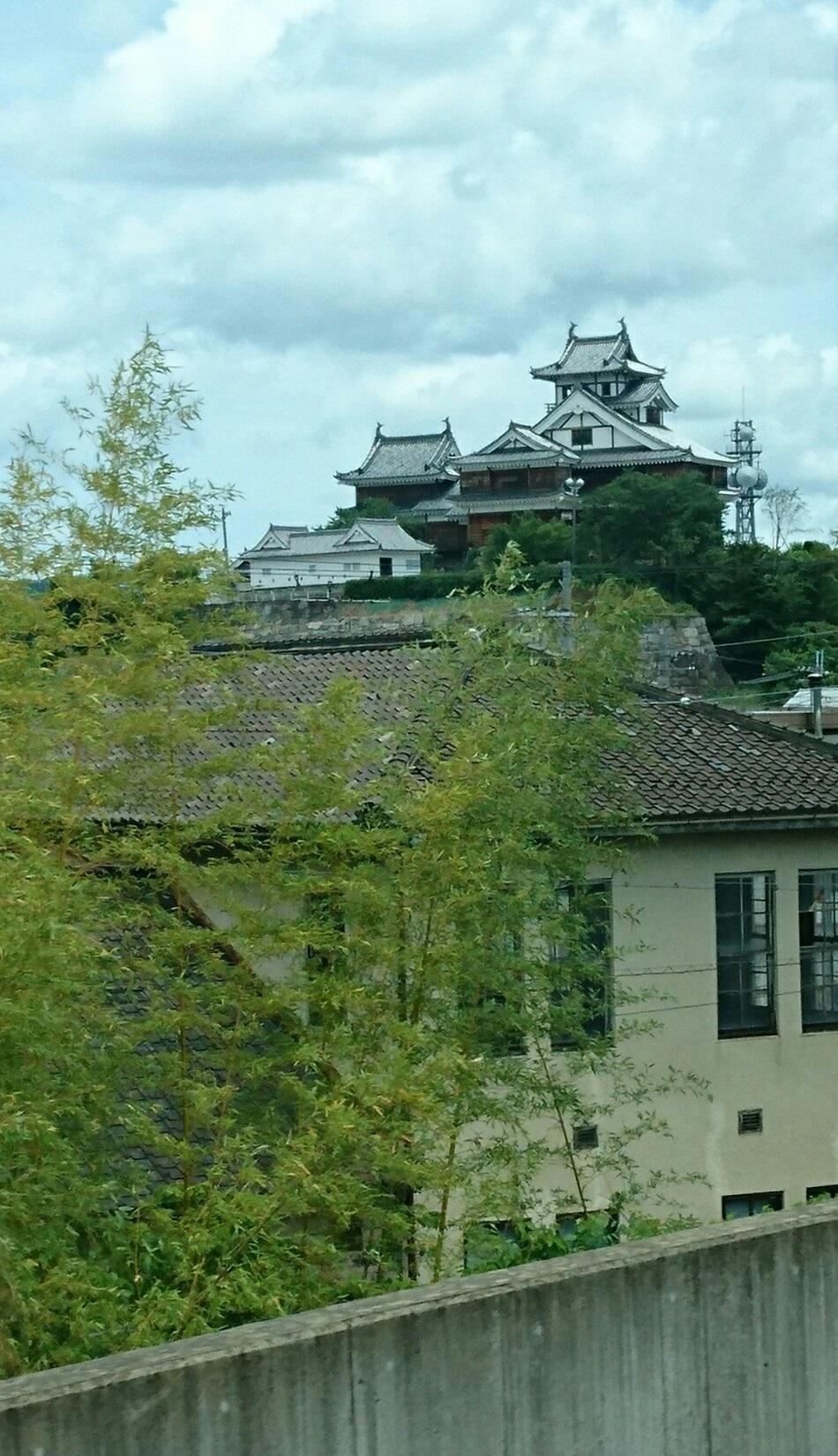 2017.6.3 豊岡 (35) はしだて3号 - みぎてに福知山城 950-1650