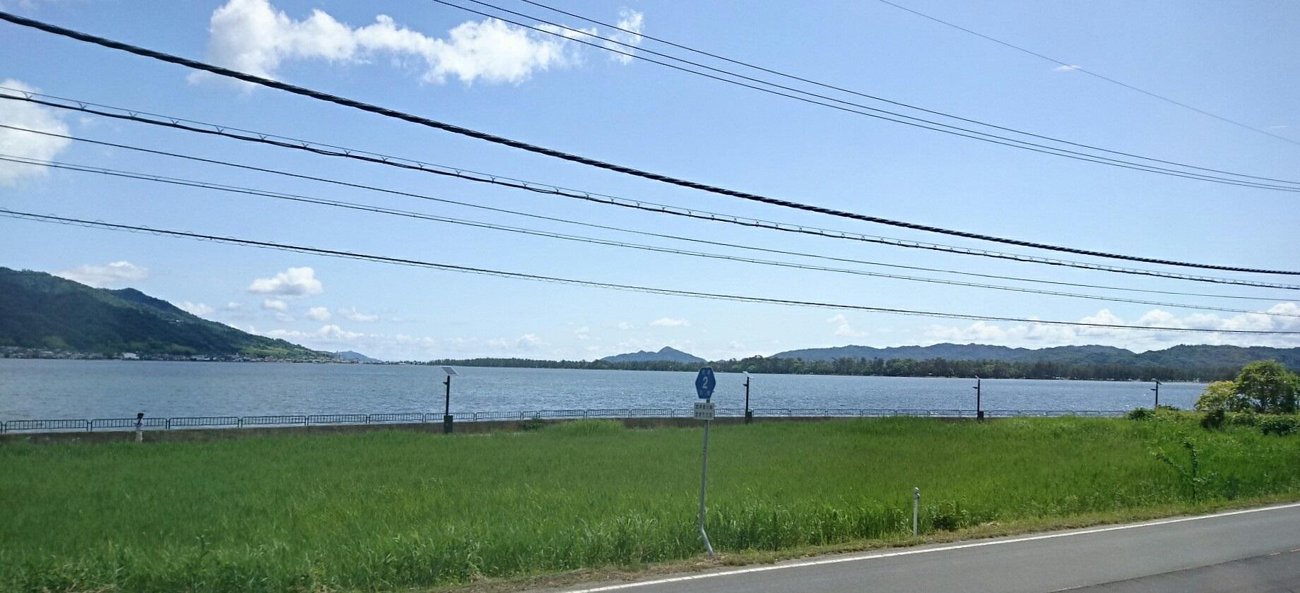 2017.6.4 天橋立 (46) 丹后のうみ(はしだて2号) - 阿蘇海 1840-840