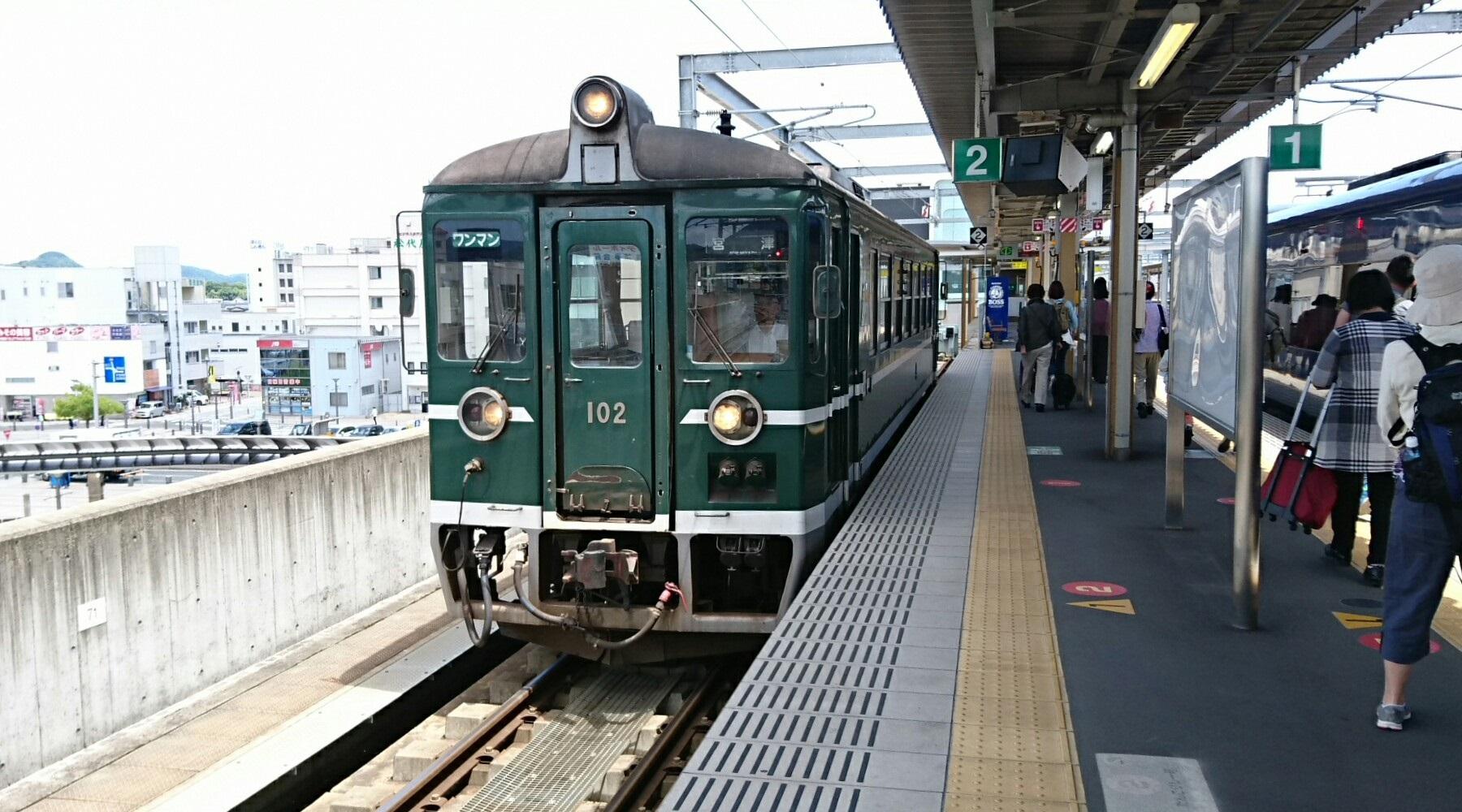 2017.6.4 天橋立 (115) 福知山 - 京都丹后鉄道列車 1800-1000