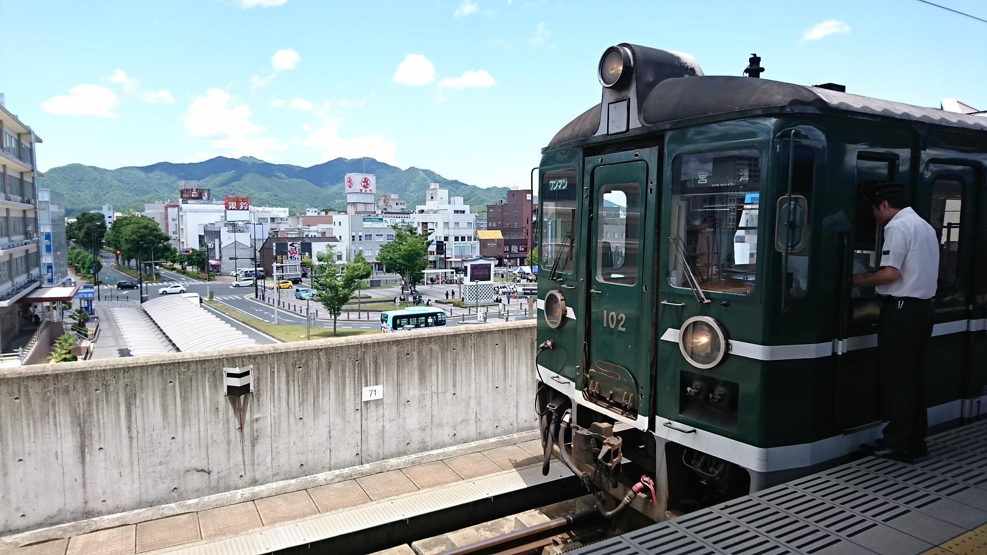 2017.6.4 天橋立 (116) 福知山 - 京都丹后鉄道列車 1920-1080
