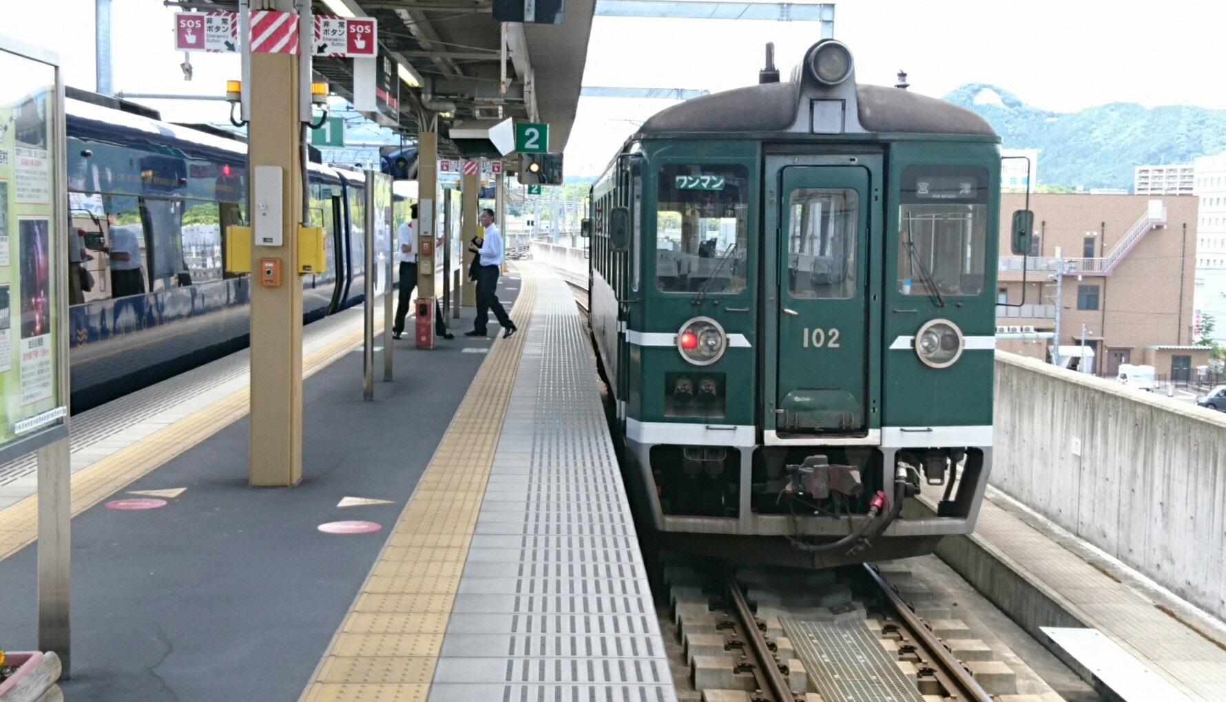 2017.6.4 天橋立 (118) 福知山 - 京都丹后鉄道列車 1780-1020