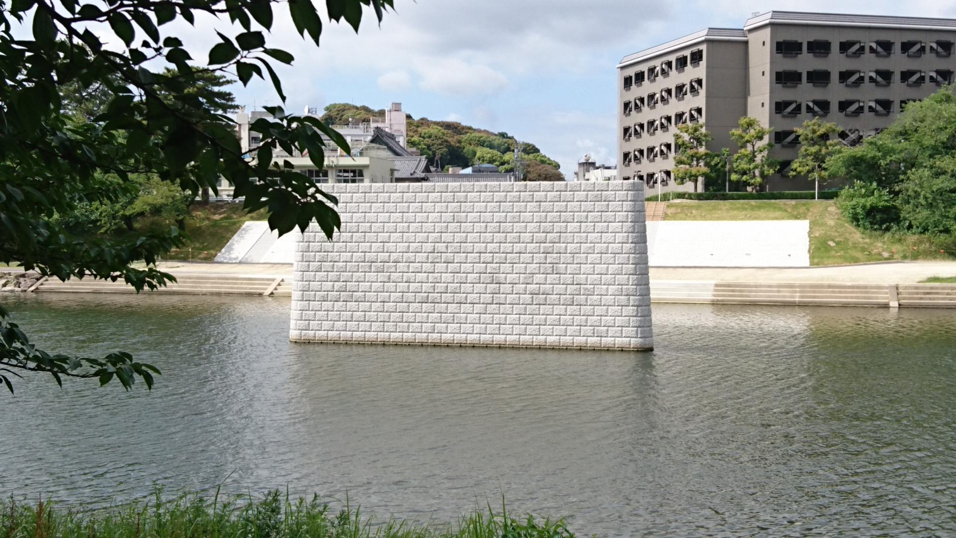 2017.6.6 乙川人道橋の橋脚 (3)