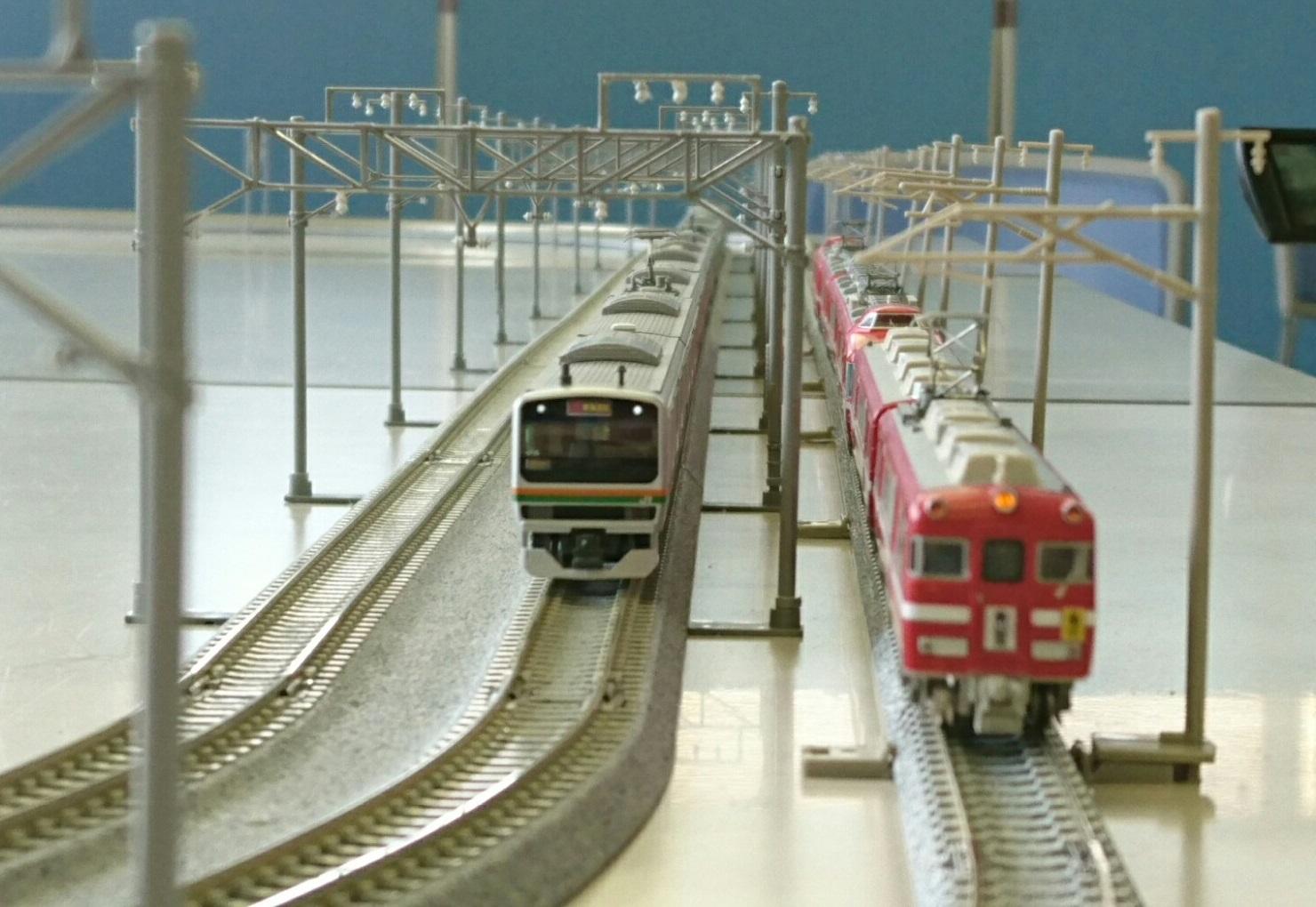 2017.6.17 スギスマイル鉄道模型展 (1) E231系と7700系 1480-1020