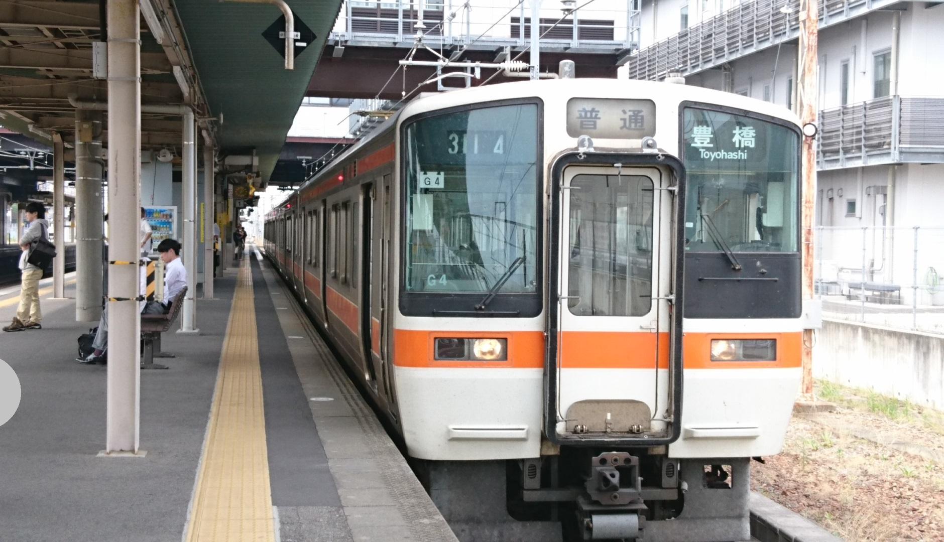 2017.6.20 相見え (9) 岡崎 - 豊橋いきふつう 1880-1080