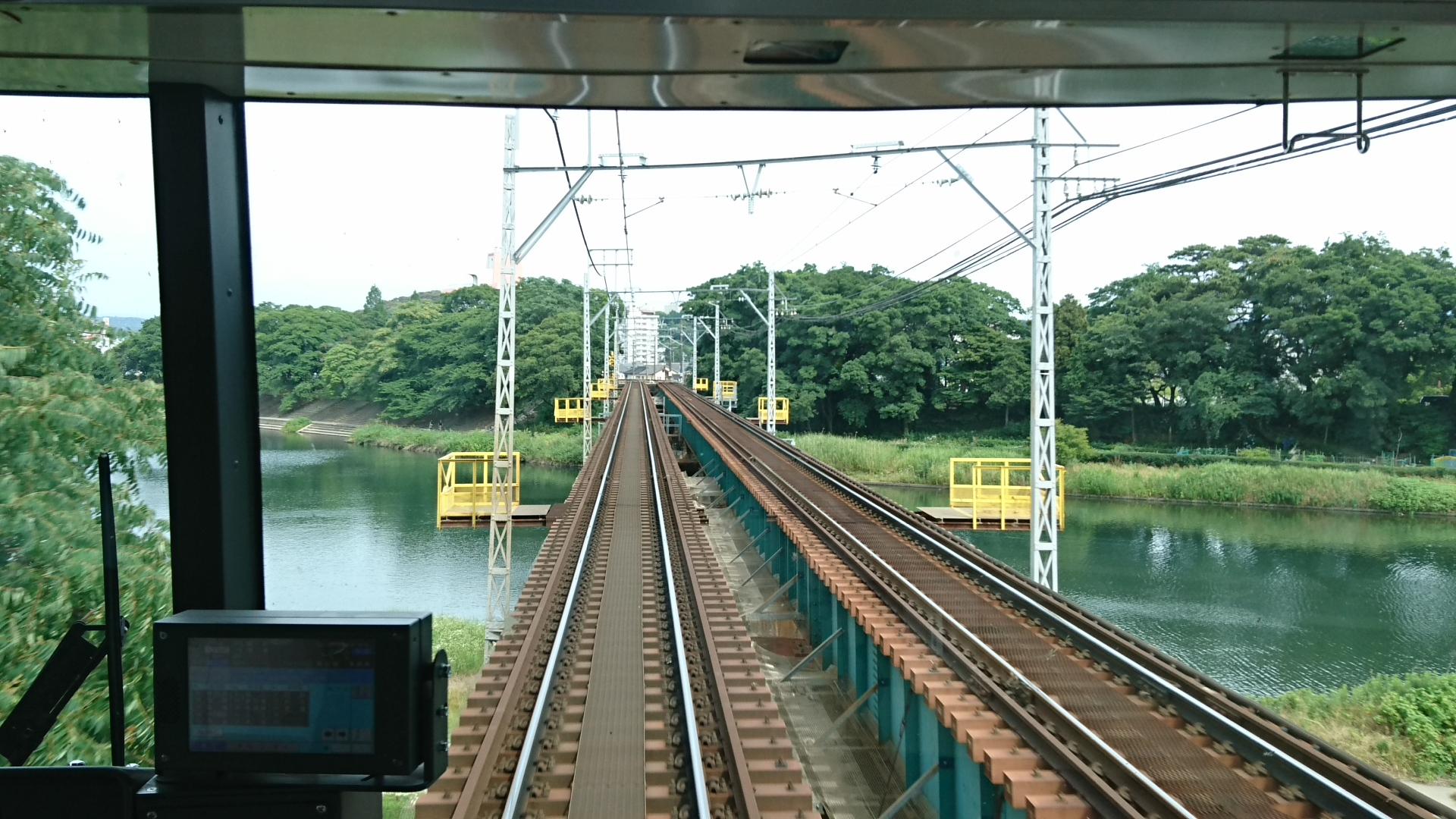 2017.6.24 東岡崎 (16) 豊橋いき急行 - 菅生川 1920-1080