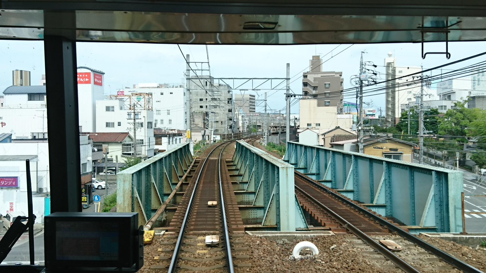 2017.6.24 東岡崎 (17) 豊橋いき急行 - 電車どおり 1920-1080