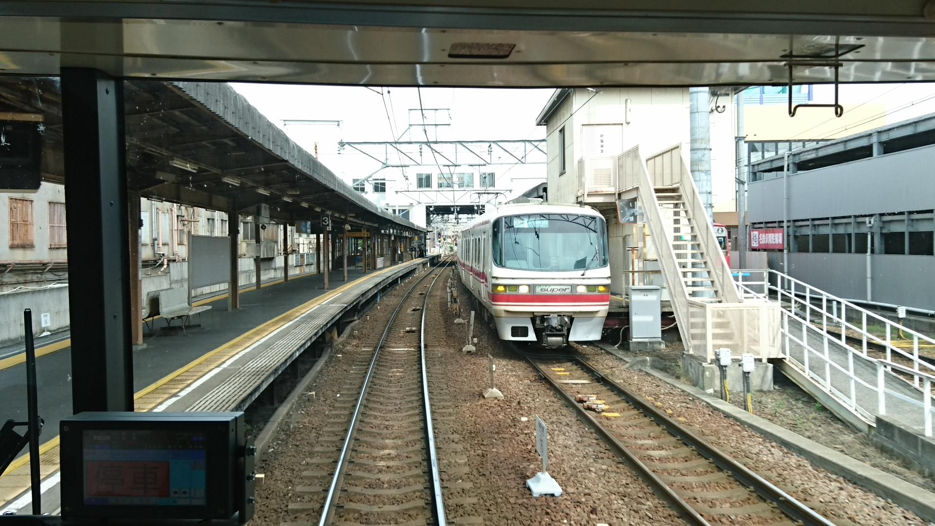 2017.6.24 東岡崎 (18) 豊橋いき急行 - 東岡崎 1920-1080