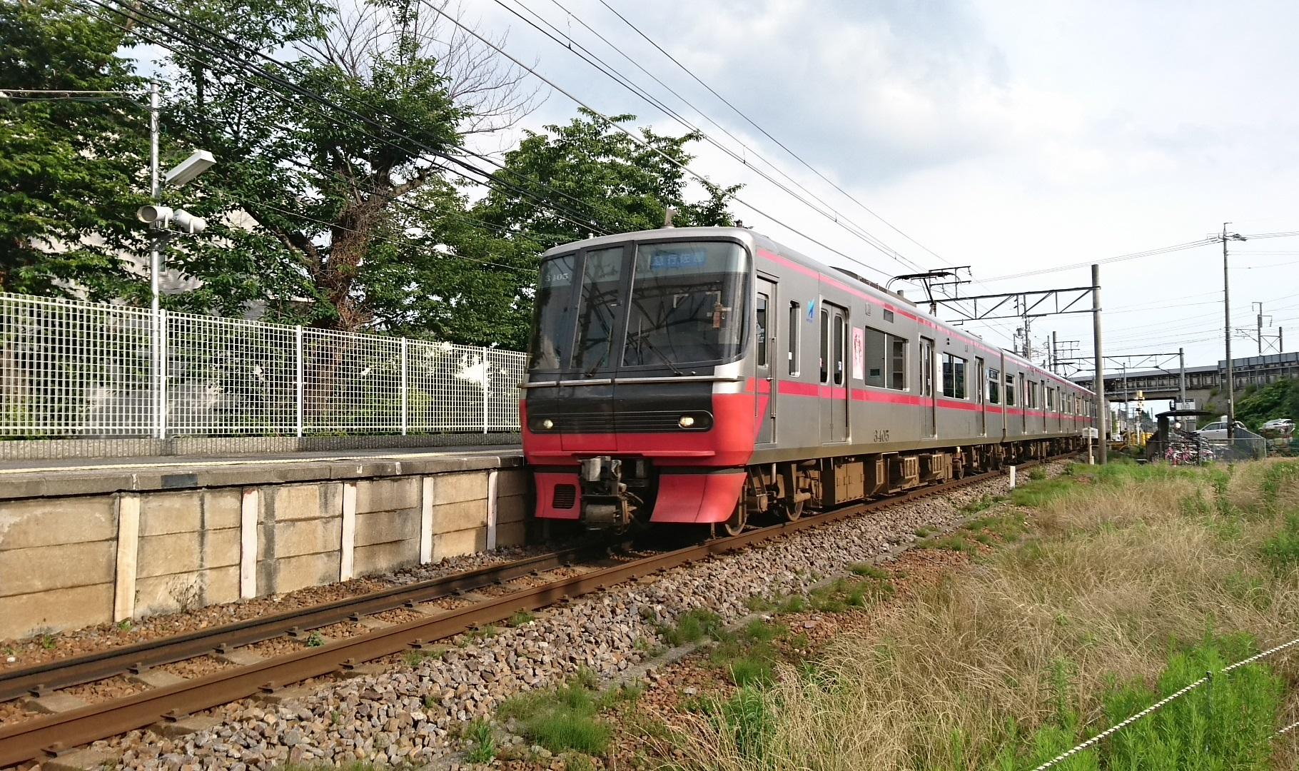 2017.7.1 えきそうじ (1) 古井 - 佐屋いき急行 1820-1080