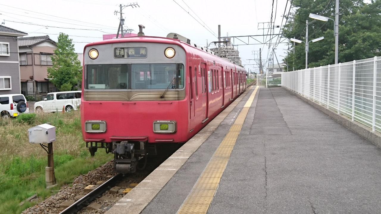 2017.7.4 名鉄 (3) 古井 - 西尾いきふつう 1280-720