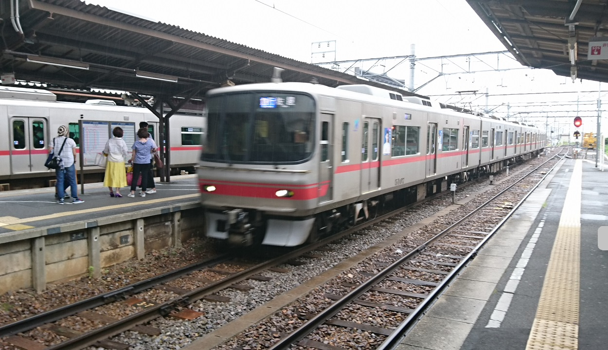 2017.7.4 名鉄 (8) しんあんじょう - 佐屋いき急行 1250-720