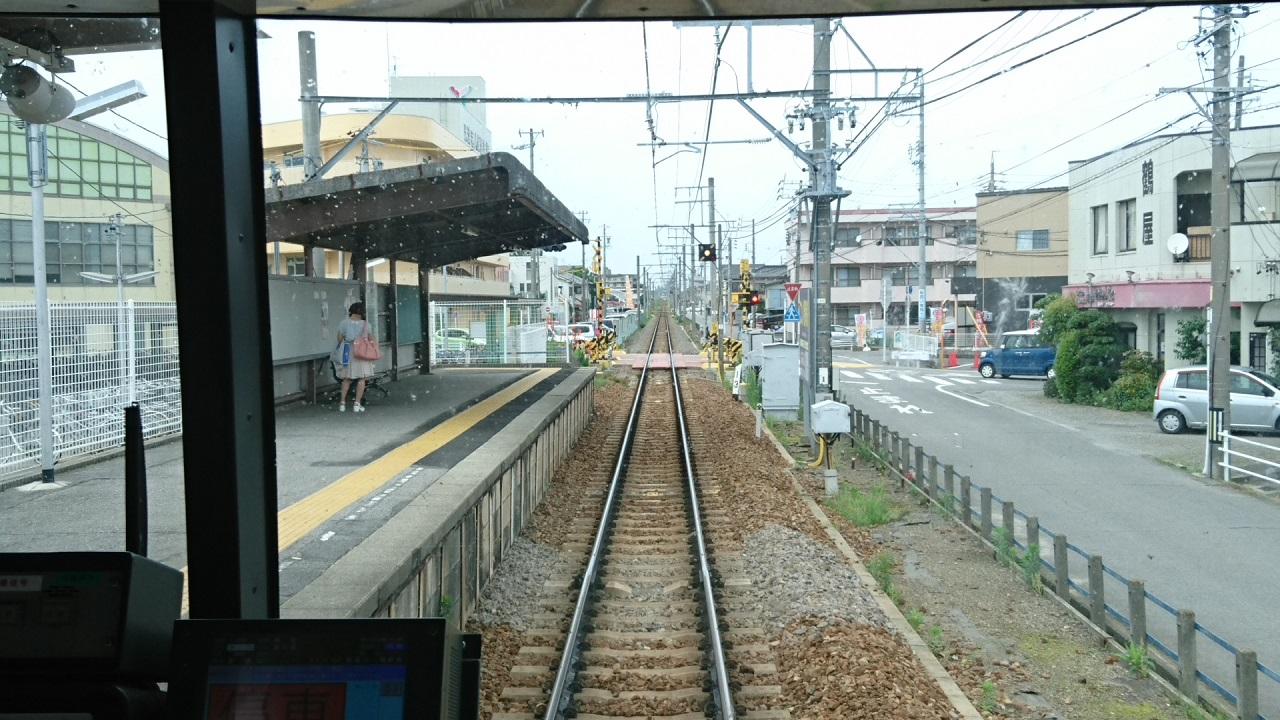 2017.7.5 西尾 (14) しんあんじょういきふつう - 桜町前 1280-720