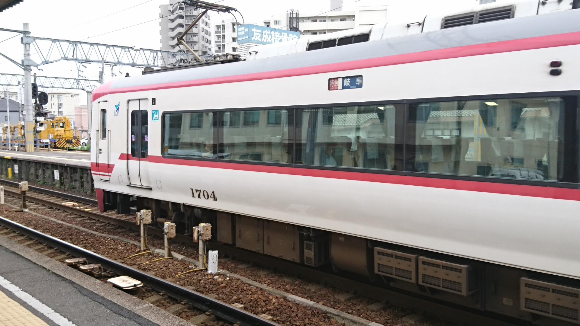 2017.7.9 名鉄 (5) しんあんじょう - 岐阜いき特急 1920-1080