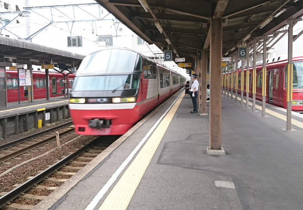 2017.7.9 名鉄 (7) しんあんじょう - 豊橋いき快速特急 1040-720