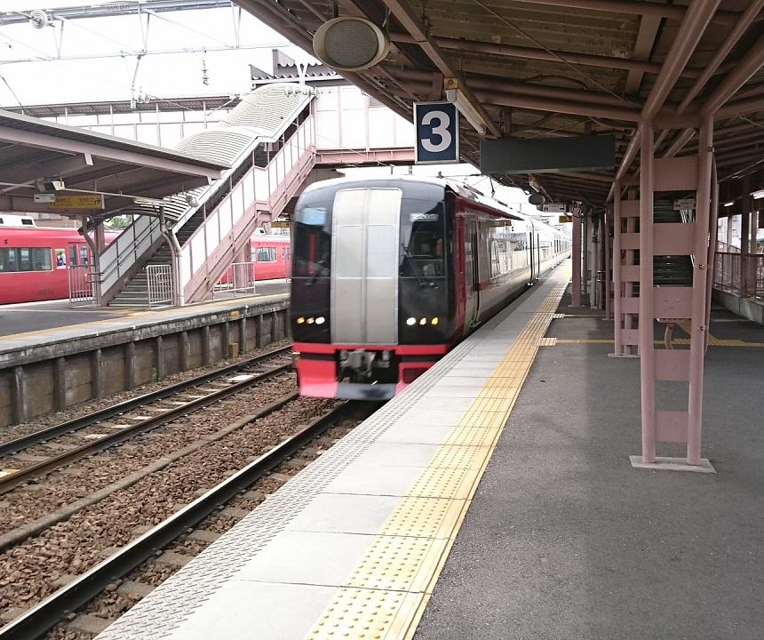 2017.7.9 名鉄 (20) 矢作橋 - 豊橋いき特急 860-720