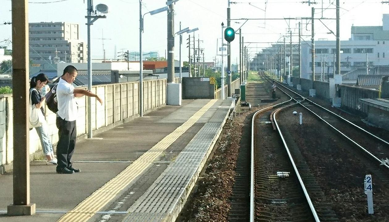 2017.7.11 名古屋 (2) しんあんじょういきふつう - みなみあんじょう 1260-720