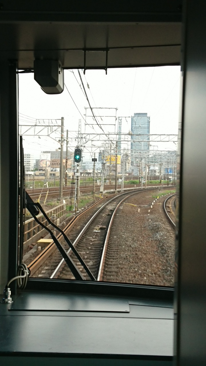 2017.7.11 名古屋 (4) 岐阜いき特急 - 金山-山王間 720-1280