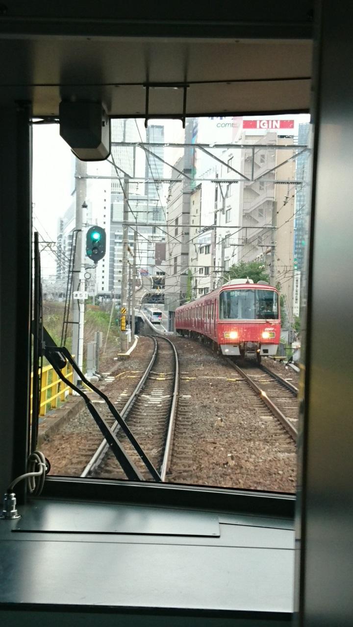 2017.7.11 名古屋 (8) 岐阜いき特急 - 山王-名古屋間 720-1280