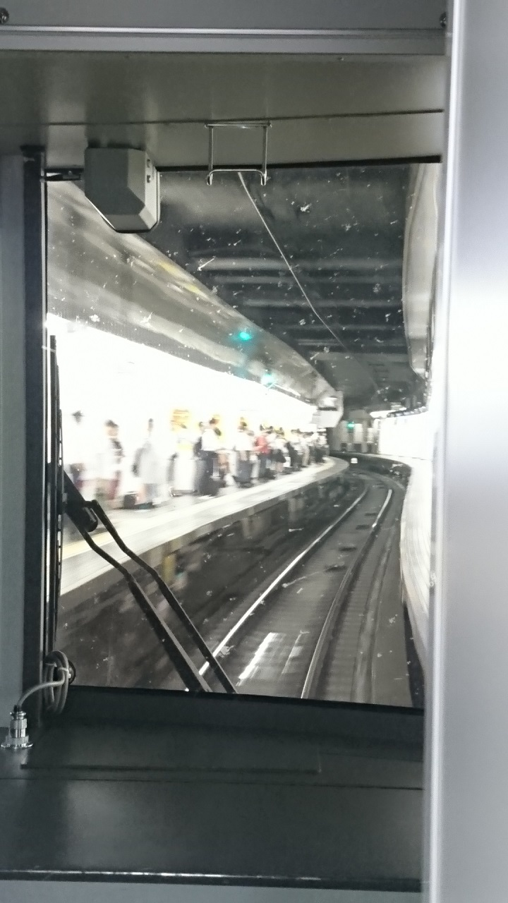 2017.7.11 名古屋 (10) 岐阜いき特急 - 名古屋 720-1280