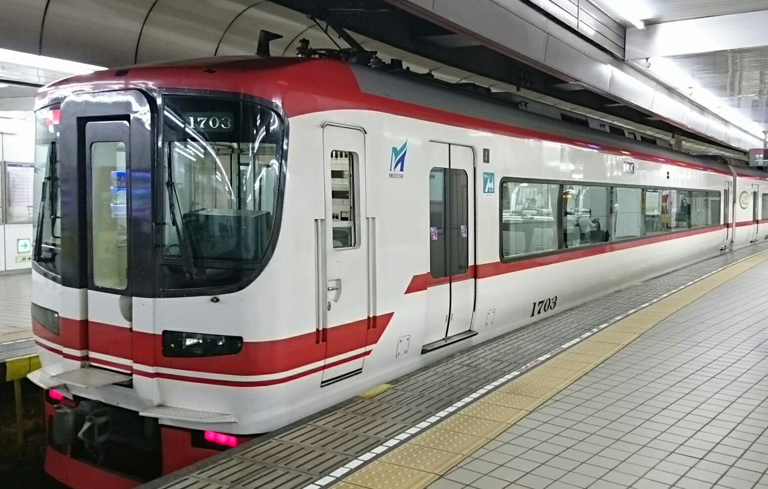 20177.12 名古屋 (11) 名古屋 -  岐阜いき特急