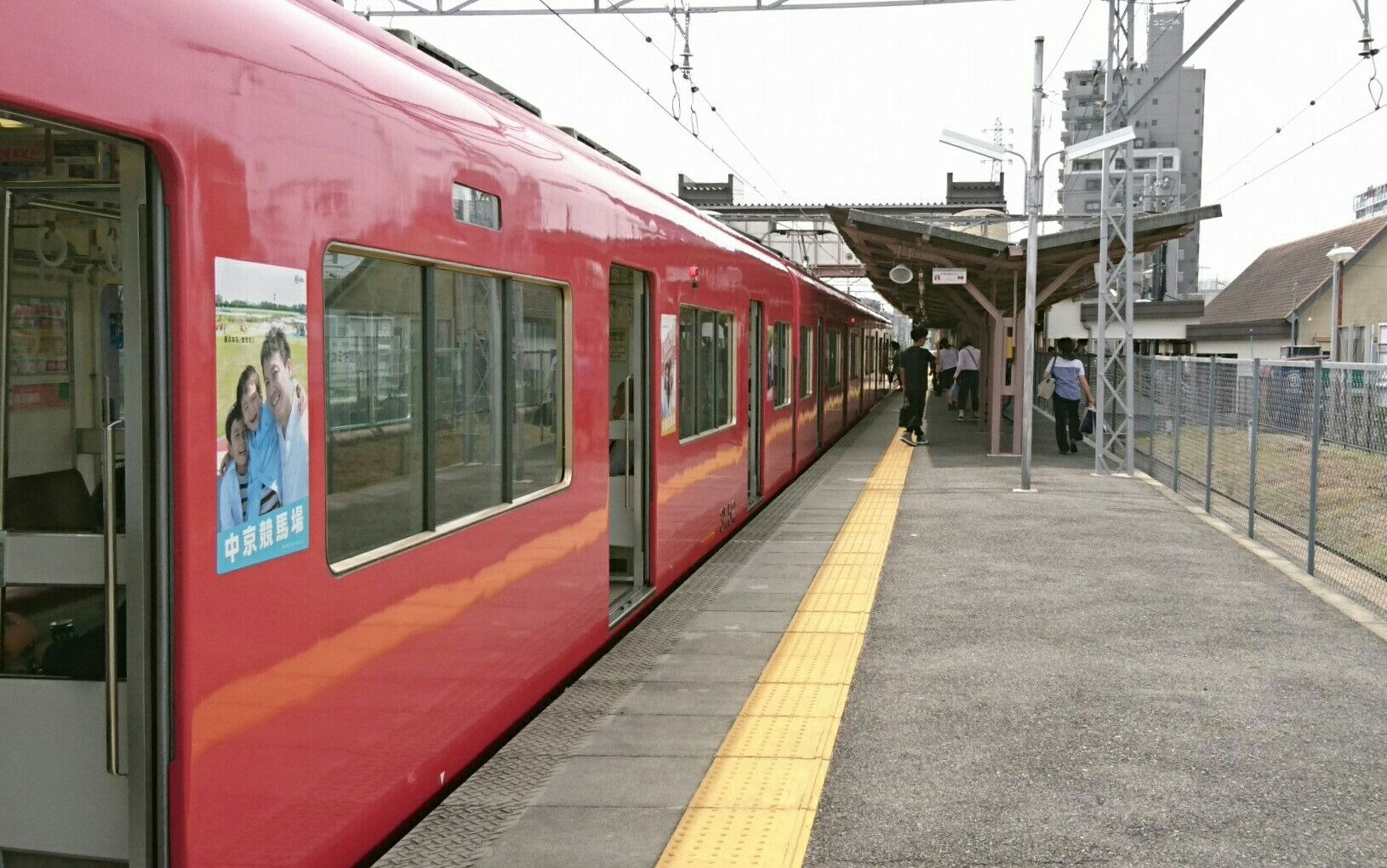 2017.7.13 名鉄 (34) 矢作橋 - 東岡崎いきふつう 1630-1020