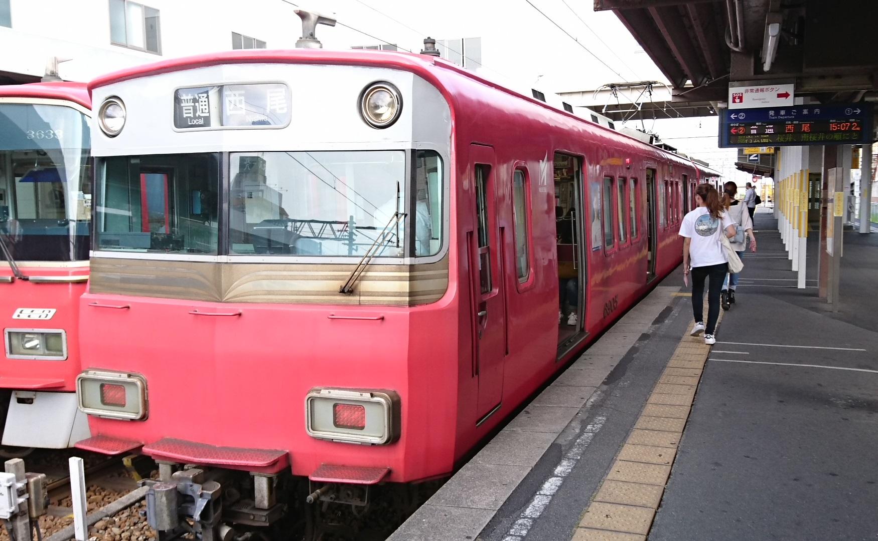 2017.7.13 名鉄 (39) しんあんじょう - 西尾いきふつう 1750-1080