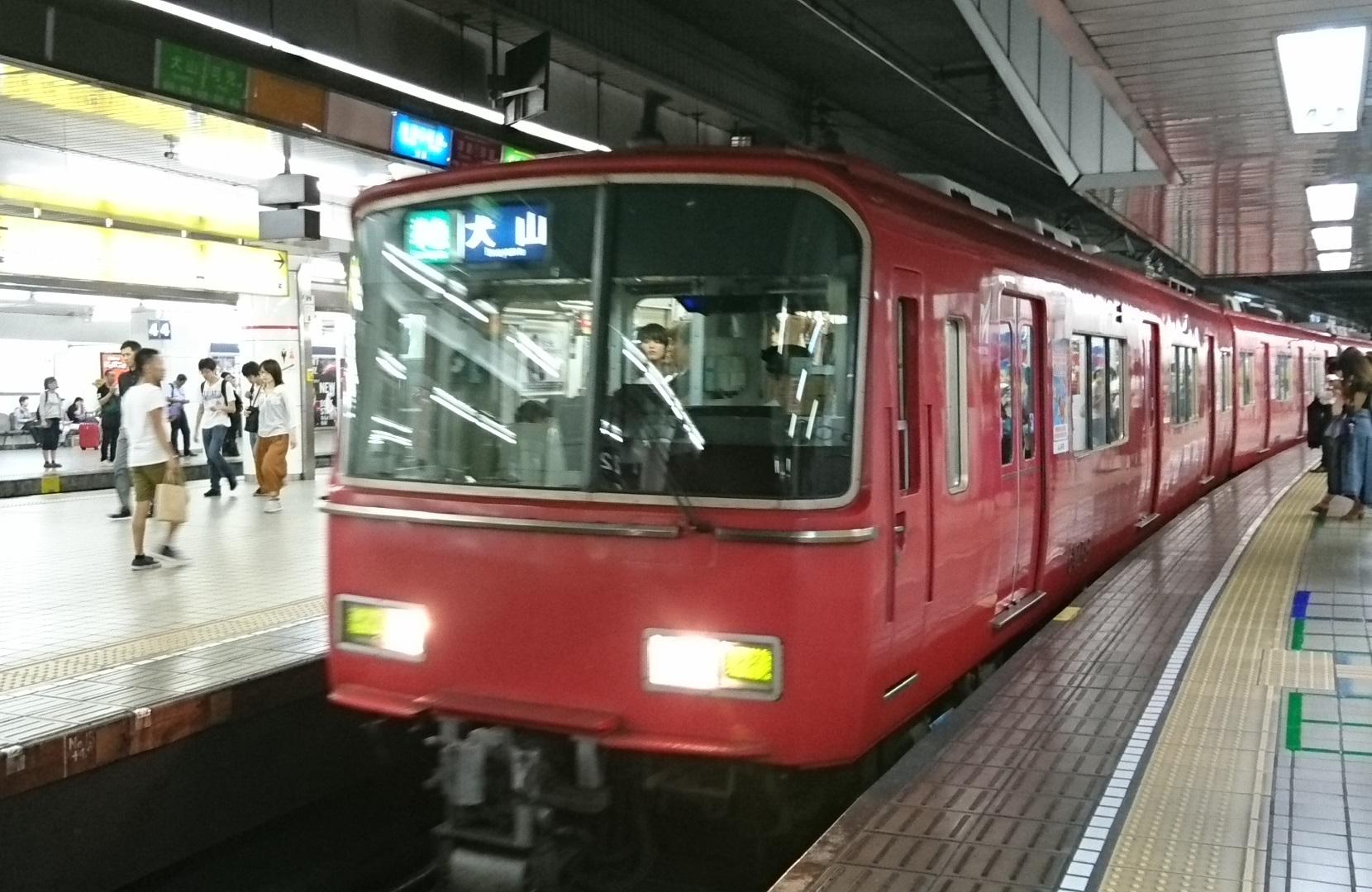 2017.7.19 布袋 (6) 名古屋 - 犬山いき準急 1660-1080