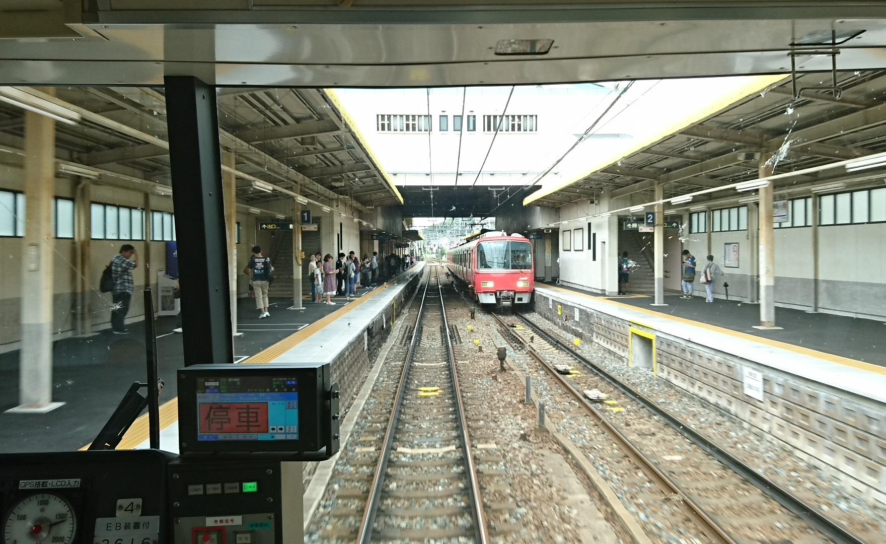 2017.7.24 有松 (4) 一宮いき急行 - 有松(豊川稲荷いき急行) 1760-1080