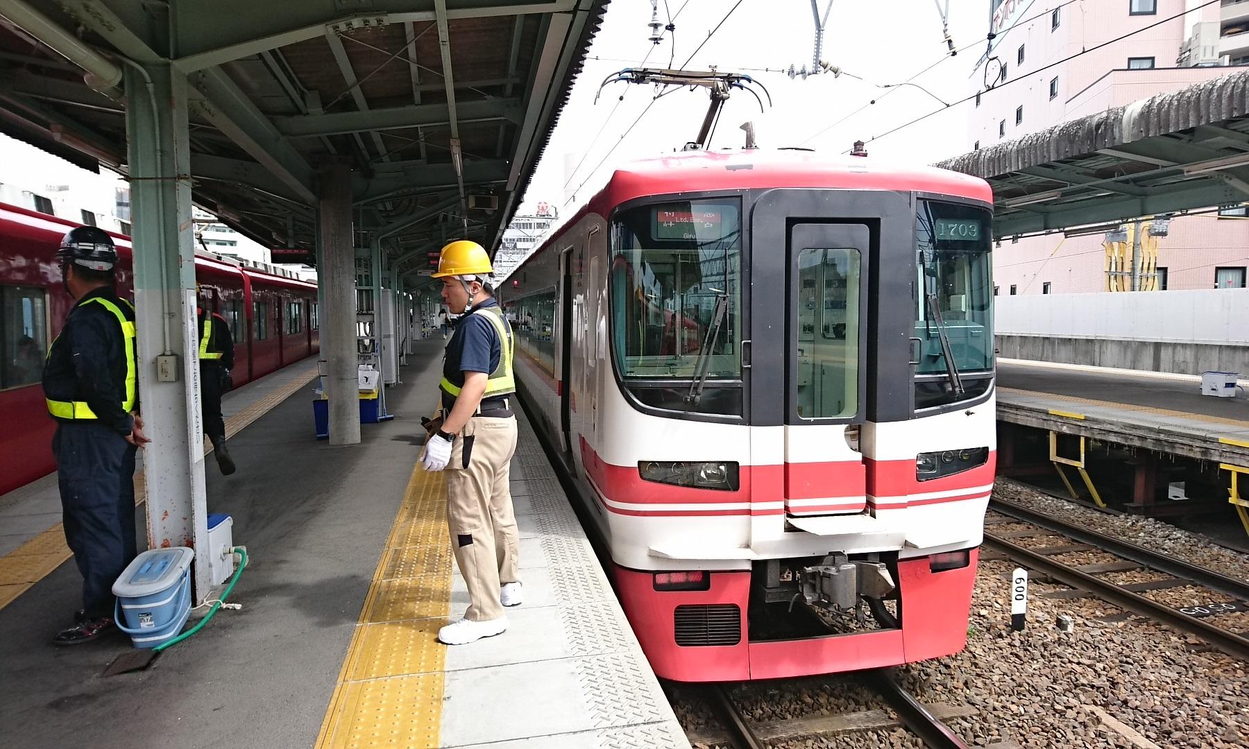 2017.8.3 笠松 (3) 岐阜 - 岐阜いき特急 1800-1080