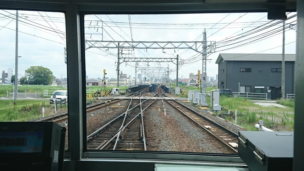 2017.8.3 笠松 (44) 吉良吉田いきふつう - 枇杷島分岐点 1280-720