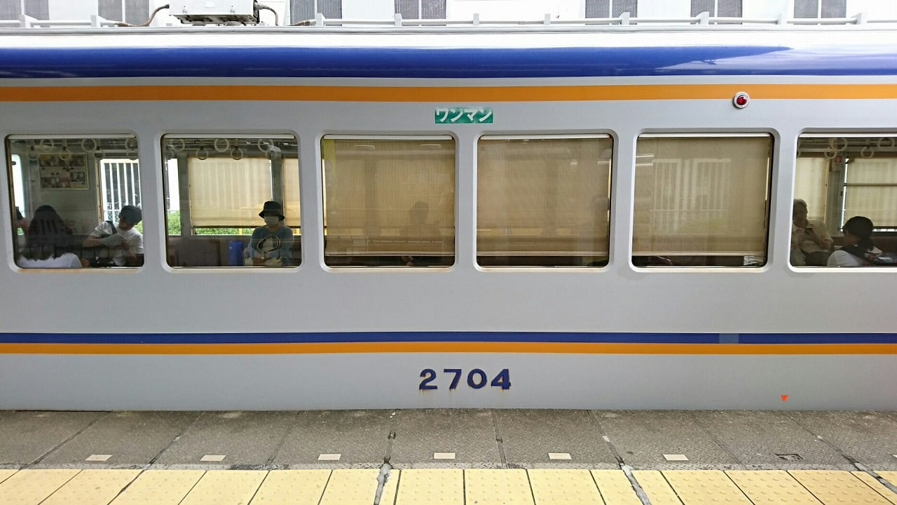 2017.8.17 たま電車 (6) 和歌山 - 貴志いきふつう 1280-720