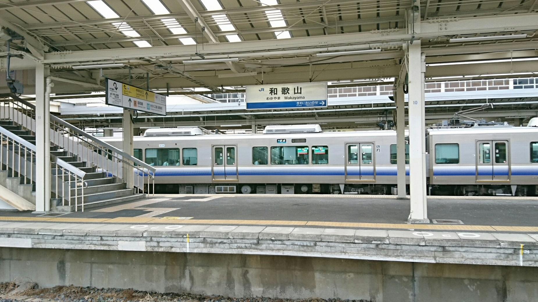 2017.8.17 たま電車 (8) 和歌山 - 御坊いきふつう 1850-1040