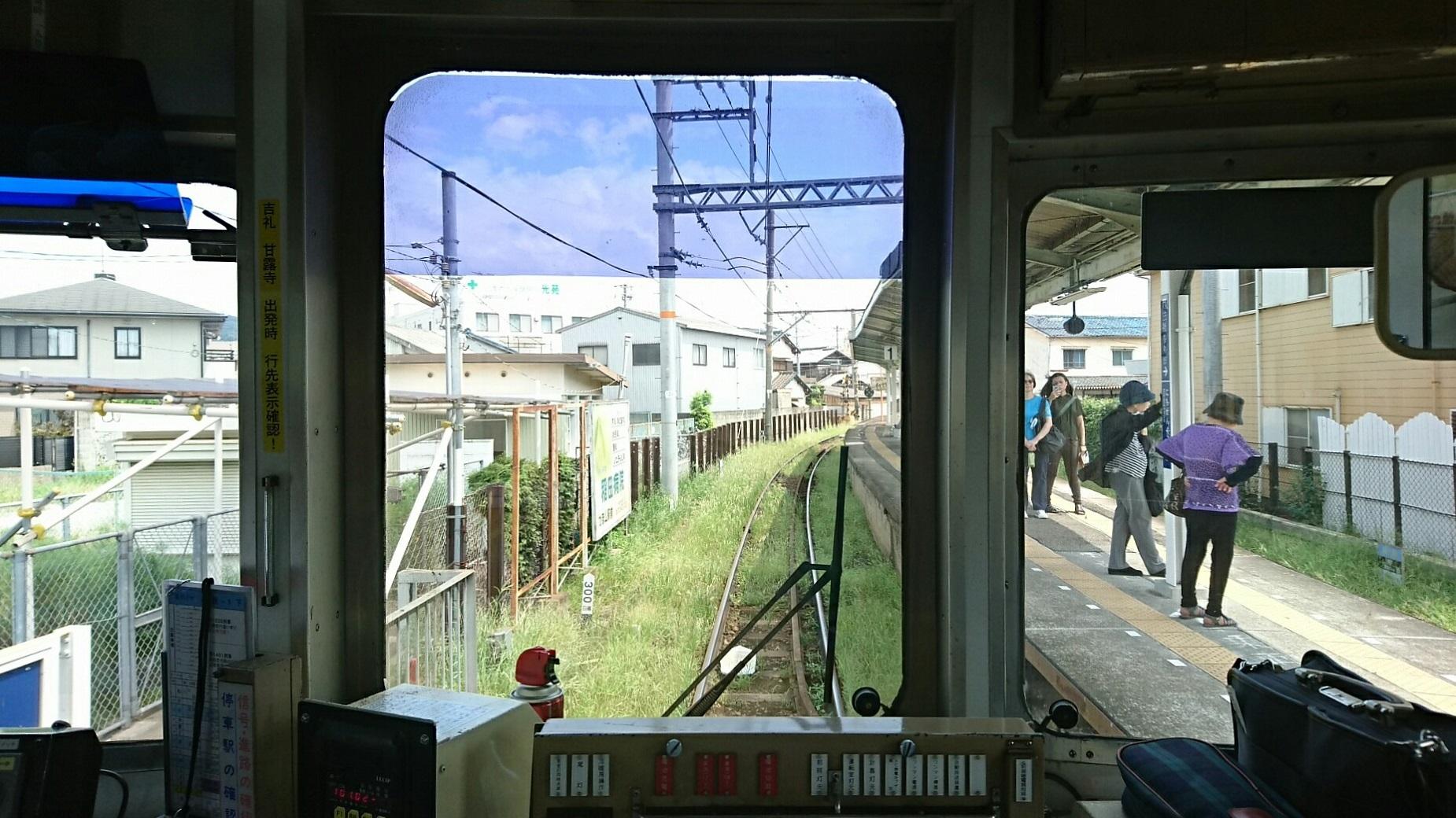 2017.8.17 たま電車 (14) 貴志いきふつう - 日前宮 1850-1040