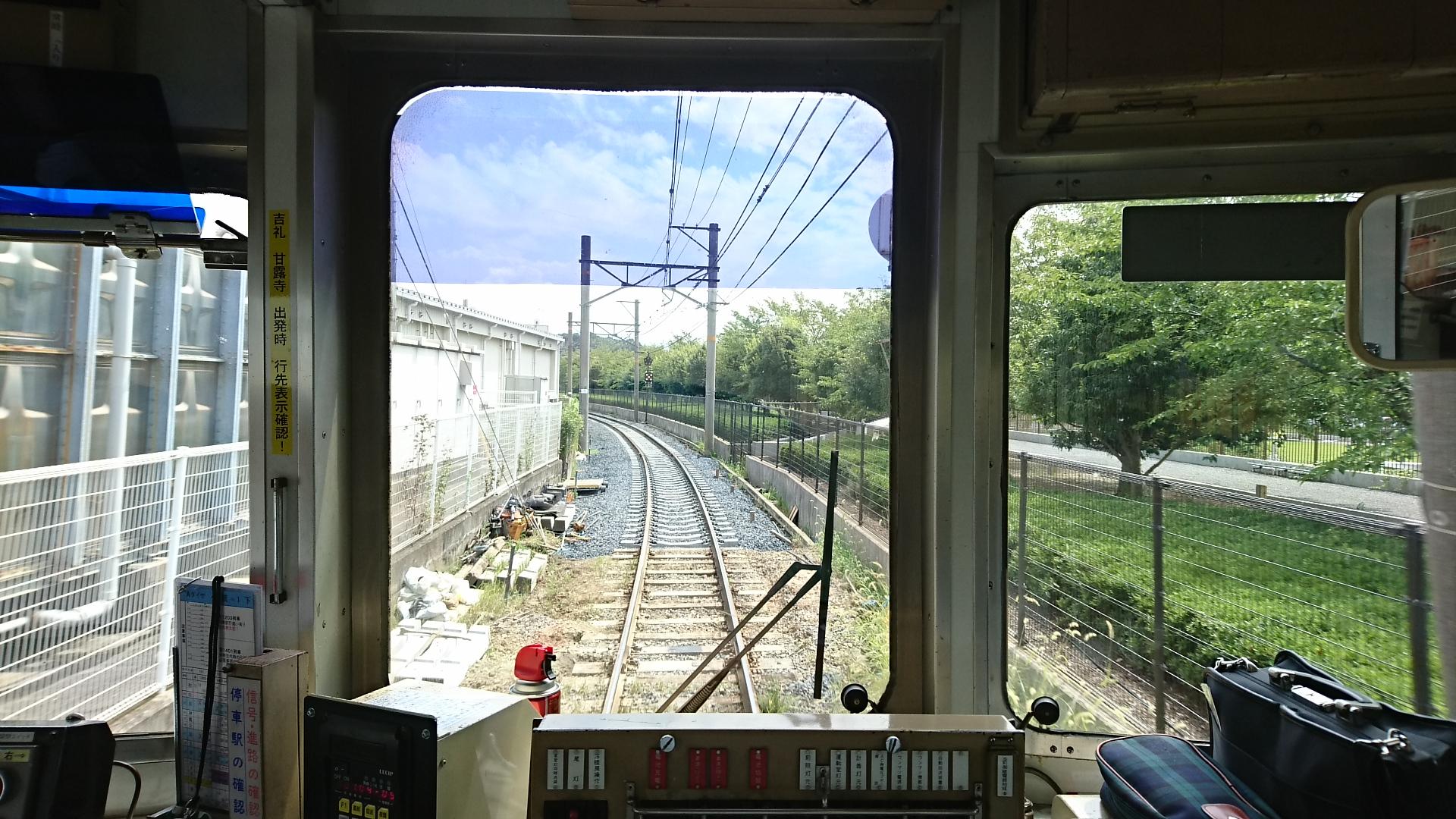 2017.8.17 たま電車 (19) 貴志いきふつう - 神前-竈山間 1920-1080