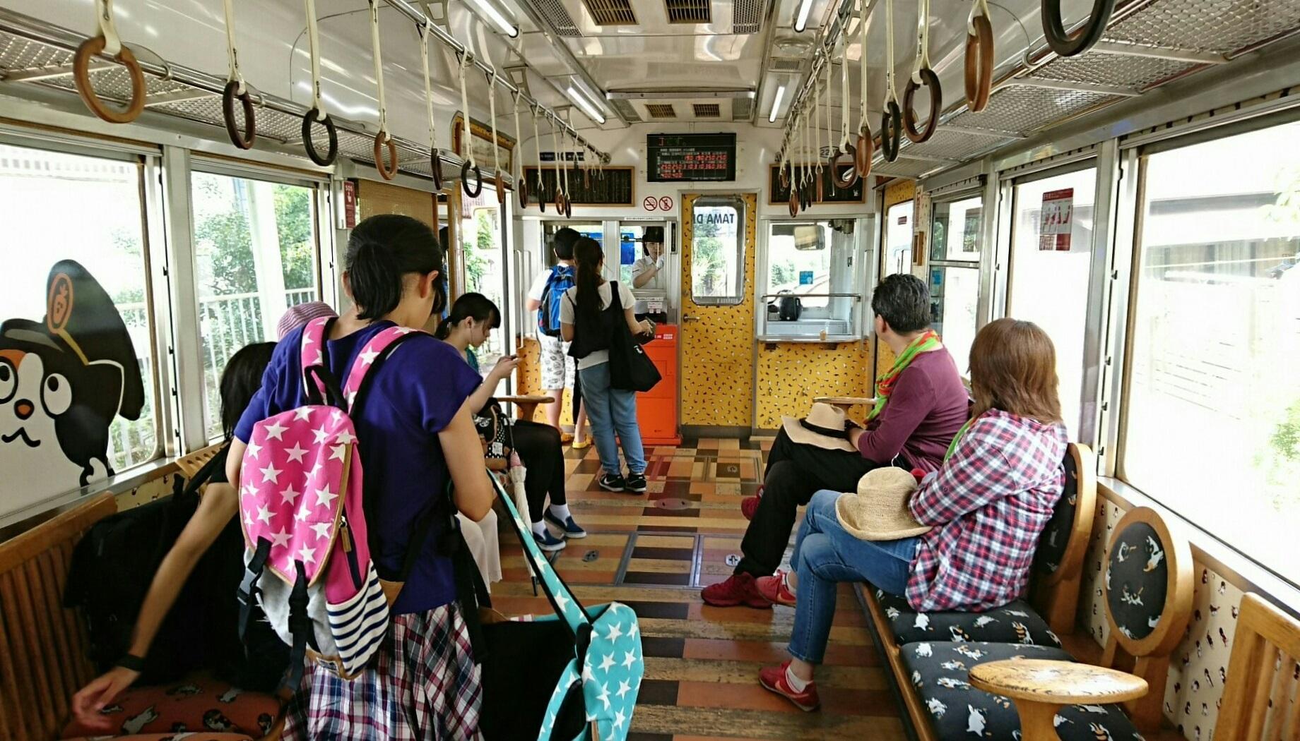 2017.8.17 たま電車 (27) 和歌山いきふつう〔たま電車〕 1840-1050