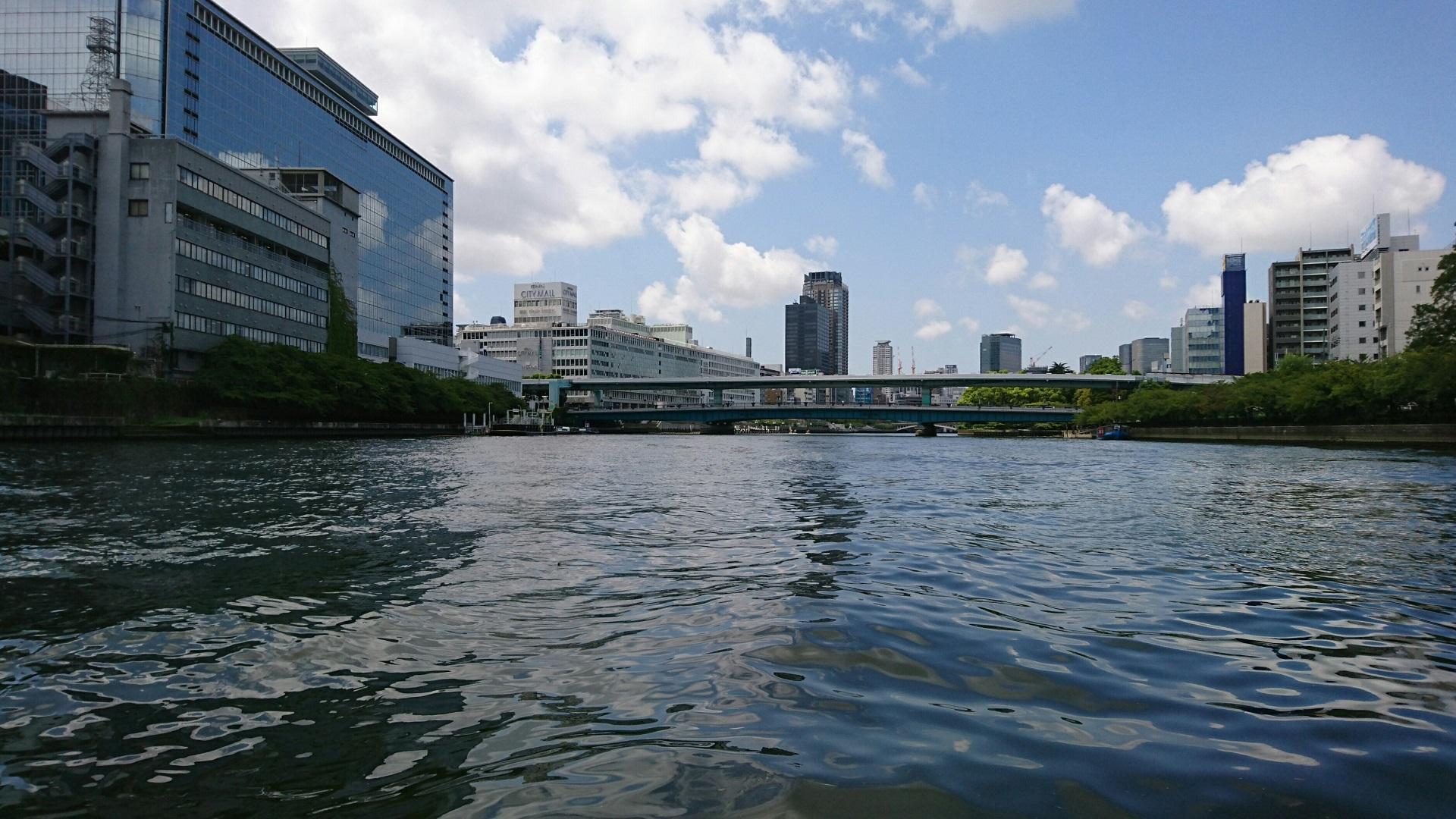 2017.8.18 ふね (27) 大川 - 天満橋 1920-1080
