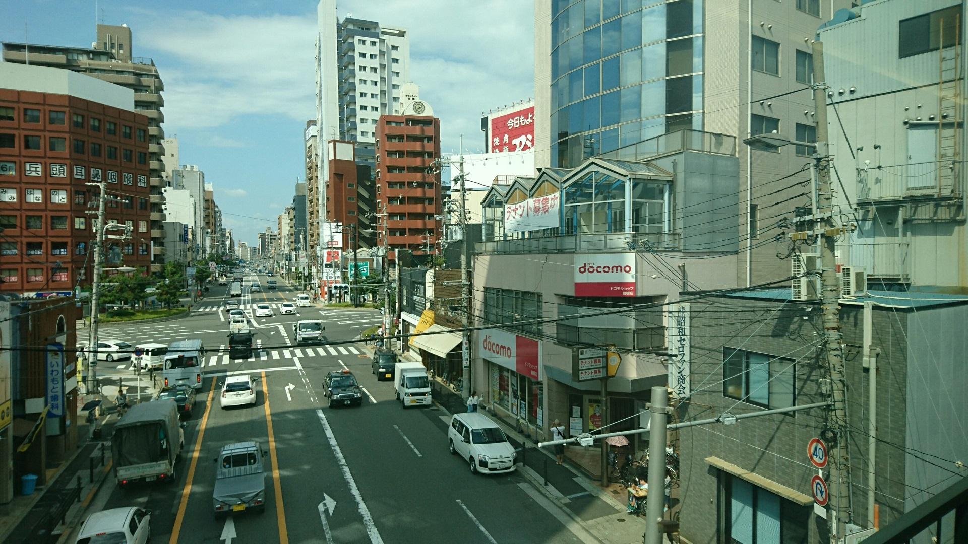 2017.8.18 近鉄 (4) 名古屋いき特急 - 鶴橋てまえ 1920-1080