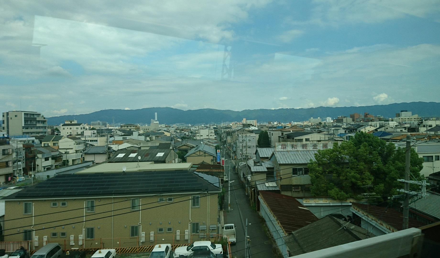 2017.8.18 近鉄 (6) 名古屋いき特急 - 俊徳道のへん 1840-1080