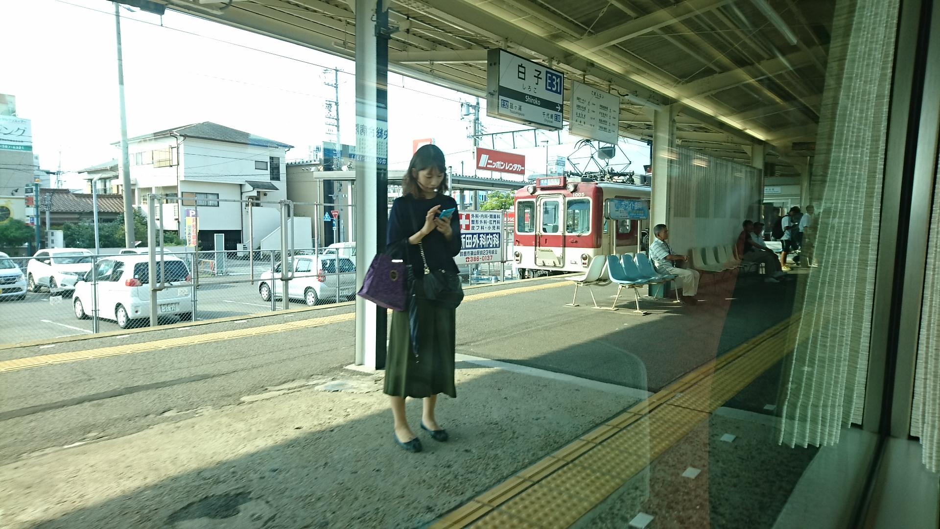 2017.8.18 近鉄 (14) 名古屋いき特急 - 白子(名古屋いきふつう) 1920-1080
