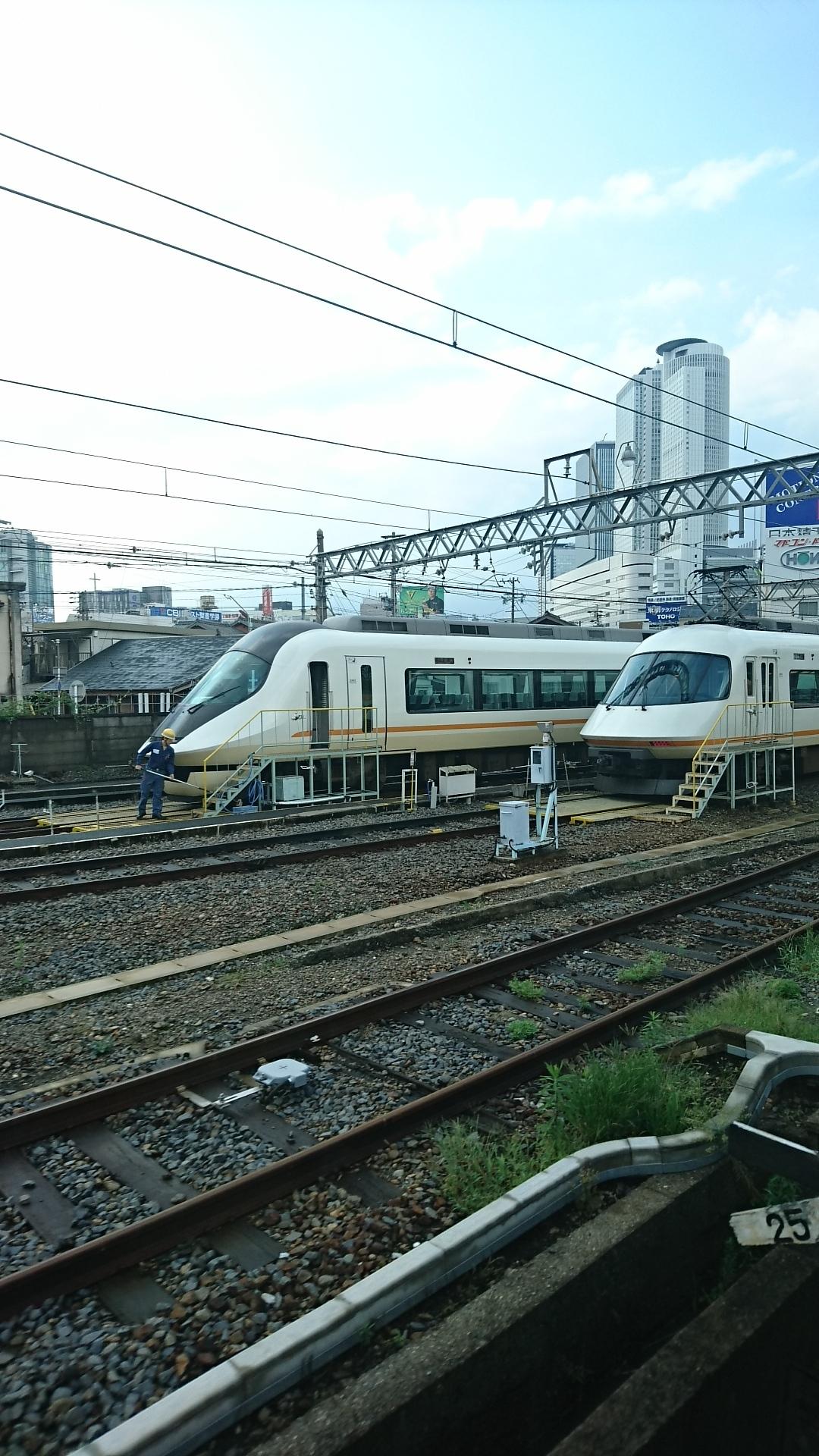 2017.8.18 近鉄 (23) 名古屋いき特急 - 米野のへん 1080-1920
