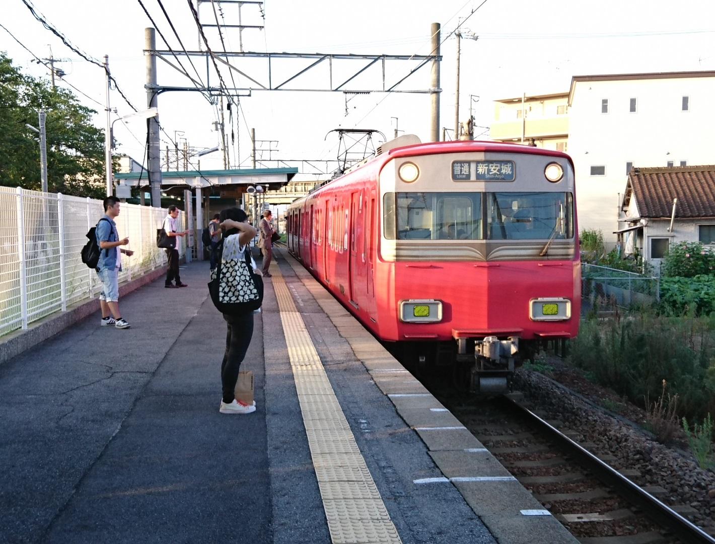 2017.8.24 名古屋 (1) 古井 - しんあんじょういきふつう 1420-1080