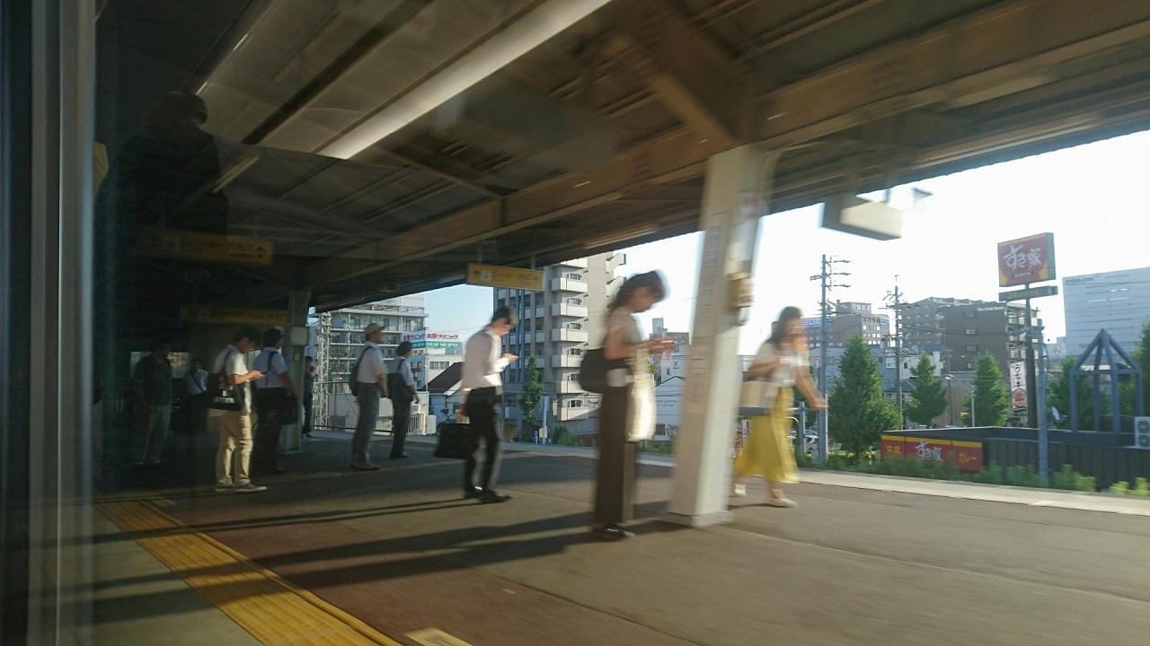 2017.8.24 名古屋 (8) 岐阜いき特急 - 山王 1280-720