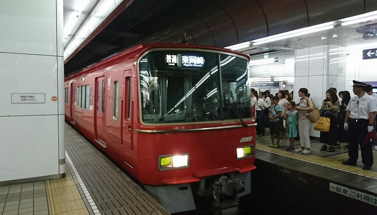 2017.8.24 名古屋 (19) 名古屋 - 東岡崎いきふつう 1260-720