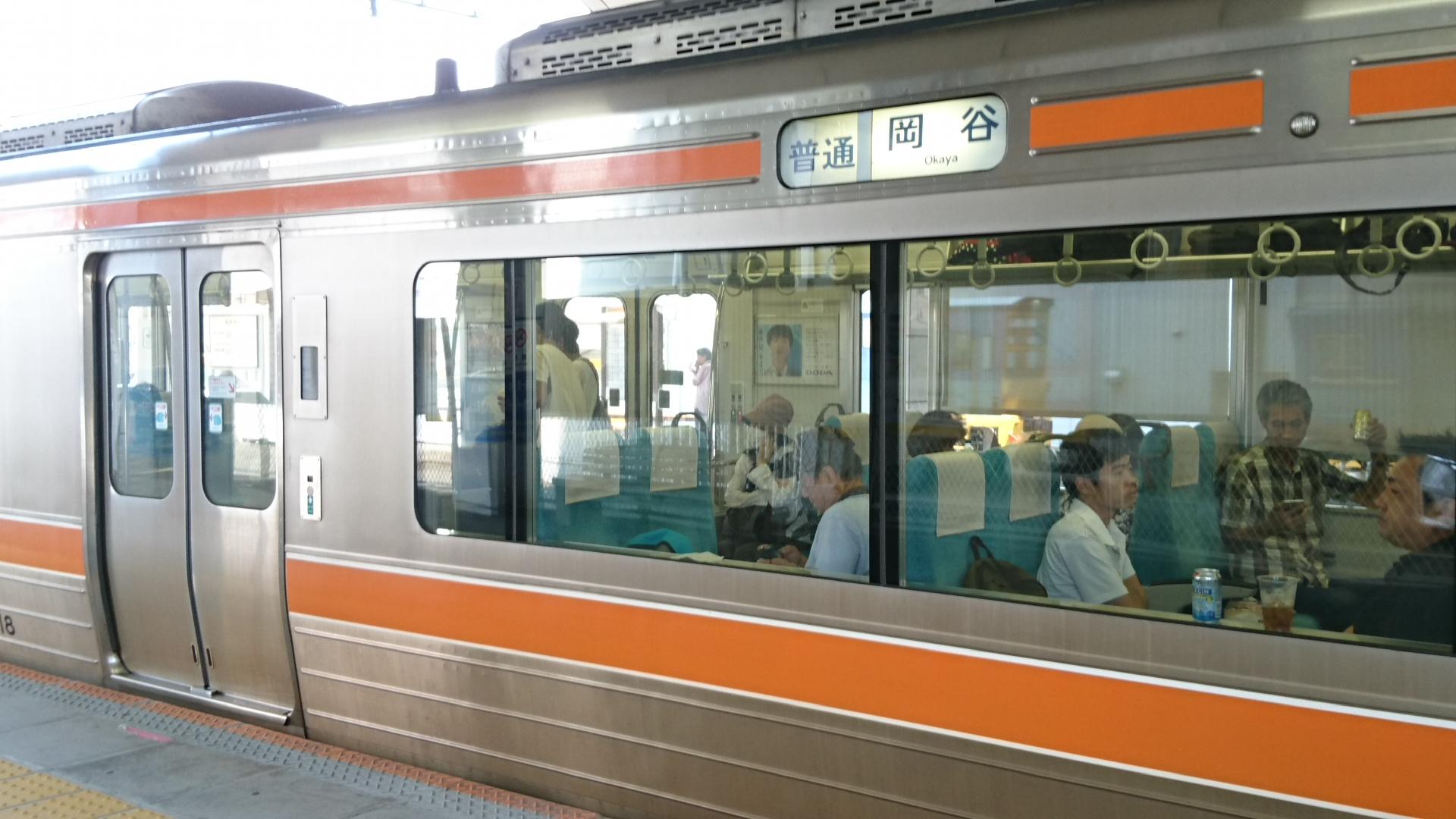 2017.8.30 豊川 (12) 豊川 - 岡谷いきふつう 1920-1080