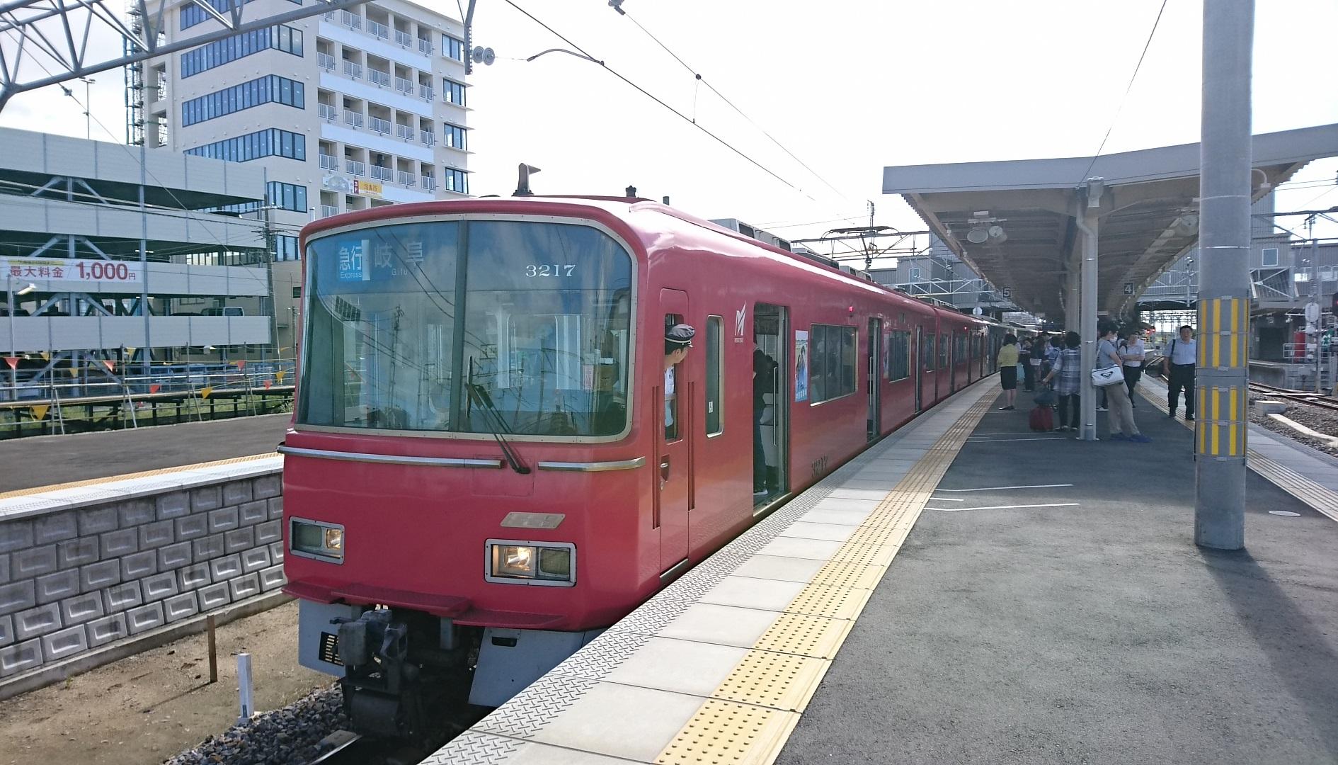 2017.9.18 名古屋 (9) 知立 - 岐阜いき急行 1890-1080
